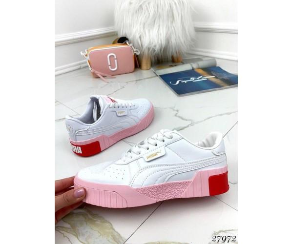 Кроссовки Puma розовая подошва