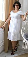 Сукня жіноча нарядно-повсякденне, виконано з тканини батист