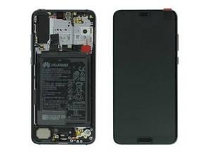 Дисплей Huawei P20 pro Charlotte-L29C Фиолетовый 02351WTU