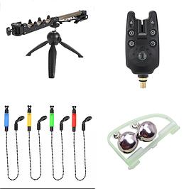 Сигнализаторы,подставки,свингера.колокольчи и светлячки