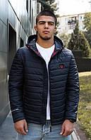 """Стеганая мужская куртка больших размеров с капюшоном """"Джейсон"""""""