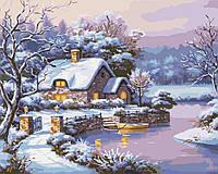Картина по номерам - Сказочная зима (КНО2248)