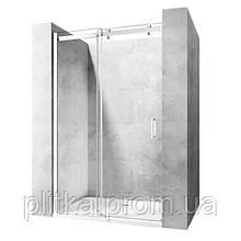 Душевая дверь Rea Nixon-2 140x190 безопасное стекло прозрачное, правая (REA-K5007)