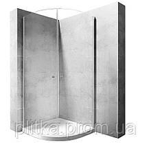 Душевая кабина Rea Round Space 90x90 безопасное стекло, прозрачное (REA-K9999)