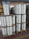 2626959-000-440  CARTRIDGE OPEN/CLOSED POLYESTER PTFE COATED OD 185 MM X L 500 MM WITH 4 BOLTS, фото 4
