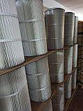 2626959-000-440  CARTRIDGE OPEN/CLOSED POLYESTER PTFE COATED OD 185 MM X L 500 MM WITH 4 BOLTS, фото 6