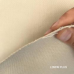 Бежевая льняная ткань, LINEN PLUS, 61% лен, 39% хлопок, Плотность 480 г/м2(1880-1/606Х)