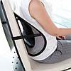 Ортопедическая спинка с массажером на кресло и авто сиденье / Каркасная подставка для спины + ПОДАРОК!, фото 6