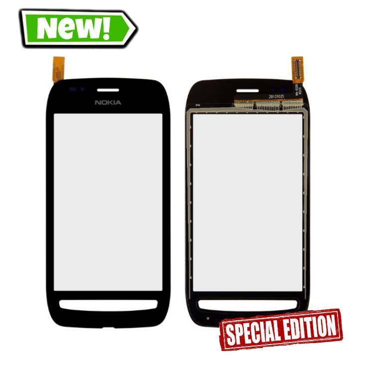 Сенсор (тачскрін) для Nokia 710 Lumia чорний