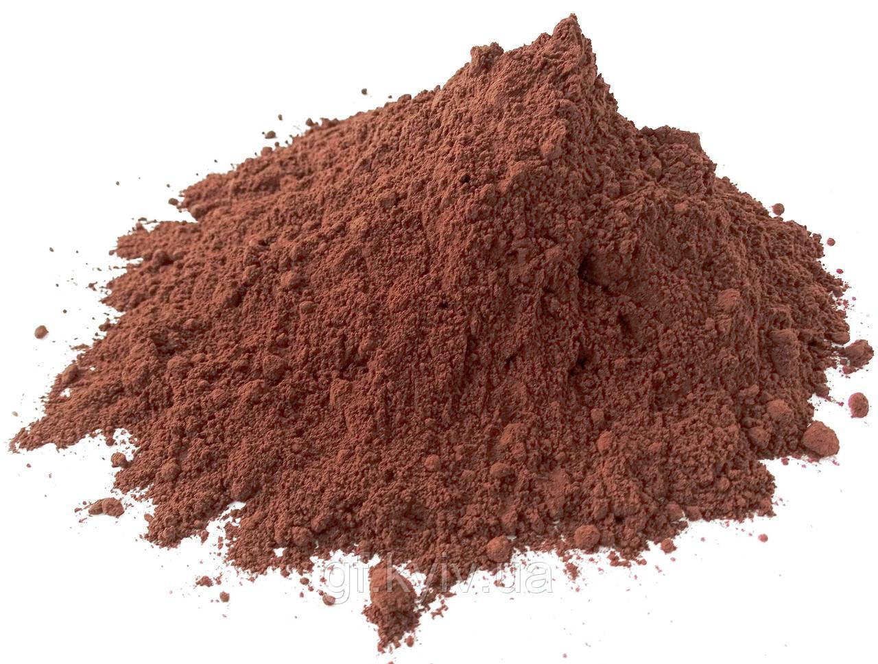 Какао-порошок 1000г алкализированный 10-12% Olam Cocoa Германия для напитков и кондитерских изделий S9