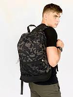 Рюкзак модный городской молодежный качественный с принтом Intruder серый камуфляж, фото 1