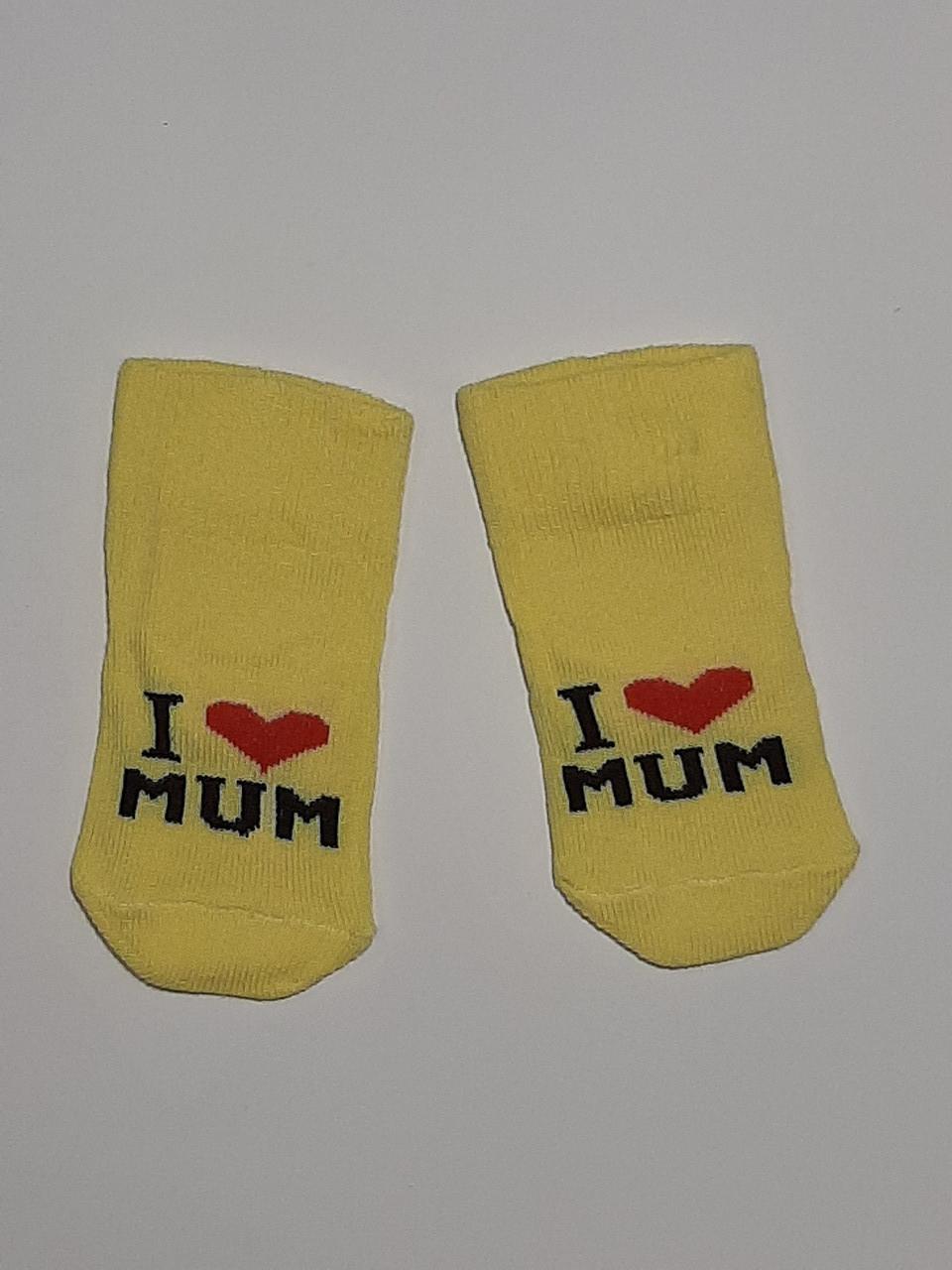 Шкарпетки для новонароджених (0-6 міс.)