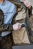 Костюм тактический Горка 3 камуфляж флектарн, фото 4