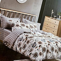 Комплект постельного белья    Евро размер Постельного белья Фланель ( Байка)