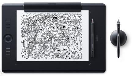 Графический планшет Wacom Intuos Pro Paper L Черный (PTH-860P-R)
