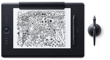 Графический планшет Wacom Intuos Pro Paper L Черный (PTH-860P-R), фото 2