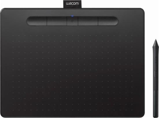 Графический планшет Wacom Intuos M Bluetooth Черный (CTL-6100WLK-N)