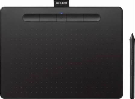 Графический планшет Wacom Intuos M Bluetooth Черный (CTL-6100WLK-N), фото 2