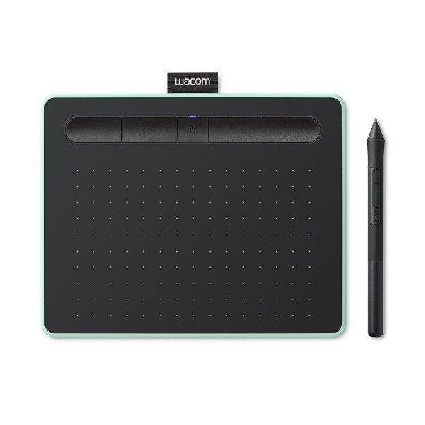 Графический планшет Wacom Intuos S Bluetooth Фисташковый (CTL-4100WLE-N)