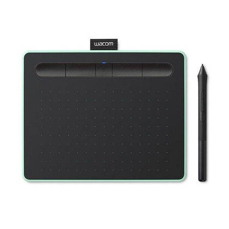 Графический планшет Wacom Intuos S Bluetooth Фисташковый (CTL-4100WLE-N), фото 2
