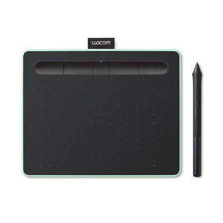 Графічний планшет Wacom Intuos S Bluetooth Фісташковий (CTL-4100WLE-N), фото 2