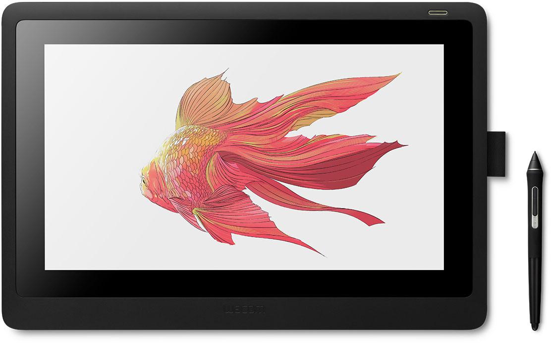 Монітор-планшет Wacom Cintiq 16 FHD Чорний (DTK1660K0B)