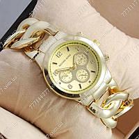Часы женские наручные Майкл Корс Runway Twist Gold