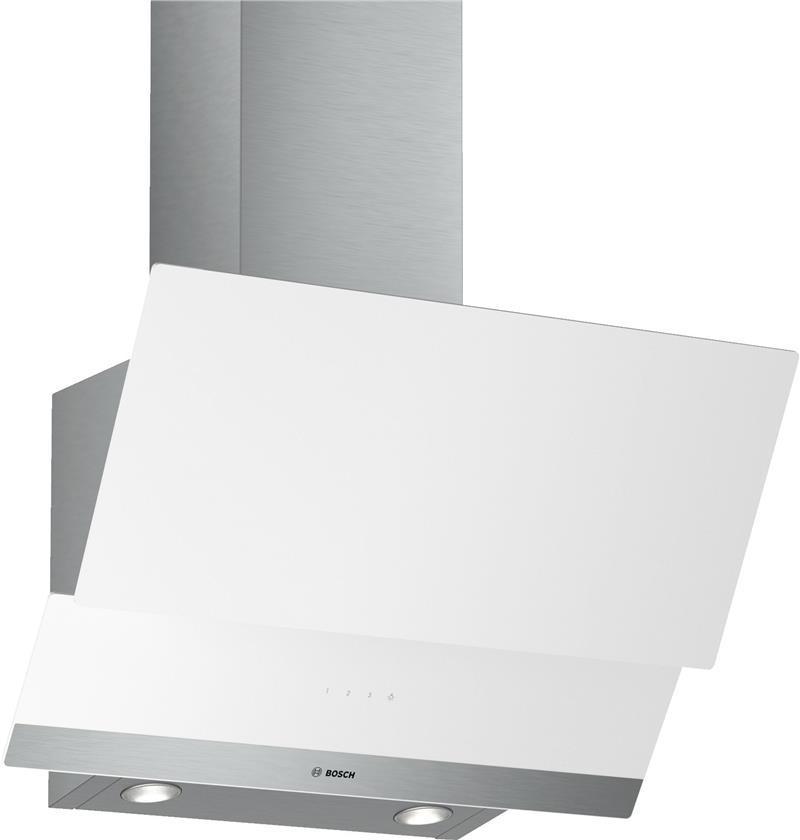 Вытяжка Bosch DWK065G20R Наклонная Белый