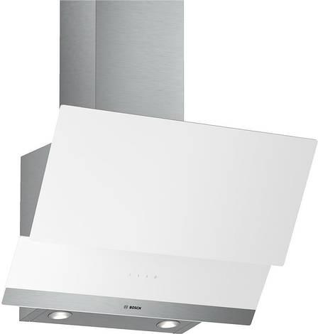 Вытяжка Bosch DWK065G20R Наклонная Белый, фото 2