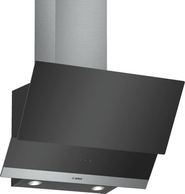 Вытяжка Bosch DWK065G60R Наклонная Черный