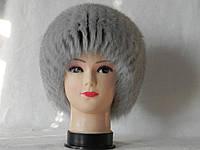 Женская зимняя меховая шапка (код 9878)