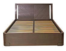Кровать из массива дерева полуторная/двуспальная Престиж от производителя на заказ классика Разные цвета