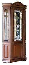 Мебельная витрина Элеонора от Элеонора стиль угловая с дверцей из натурального массива дуба