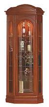 Мебельная витрина Наполеон от Элеонора стиль угловая с дверцей из натурального массива дуба