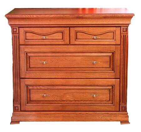 Комод прикроватный деревянный Элеонора нова большой классика бренда Элеонора стиль Разные цвета