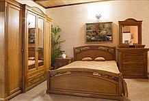 Спальня из натурального дерева РОКСОЛАНА Гарнитур для спальни разные цвета Мебель для спальни Элеонора стиль