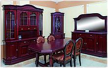 Набор мебели для столовой Олимп из натурального дерева Элеонора стиль