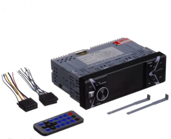 """Автомагнитола мультимедийная 1 дин SP-9701BT 4,1"""" экран"""
