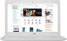 """Ноутбук ASUS X556U Core i5-6198DU 500GB HDD 8GB 15.6"""" (1920x1080) GeForce 940MX Вітрина"""