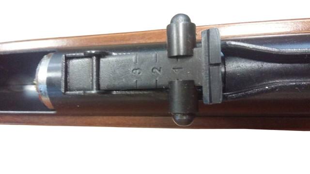 Виз затвора SPA B4 со стороны ствола