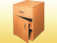 Тумбочка с дверцей и ящиком, 404х406х592 мм.