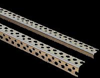 Кутник перфорований |Кутник перфорований алюмінієвий |Кутник ЛЮКС 2.5 м