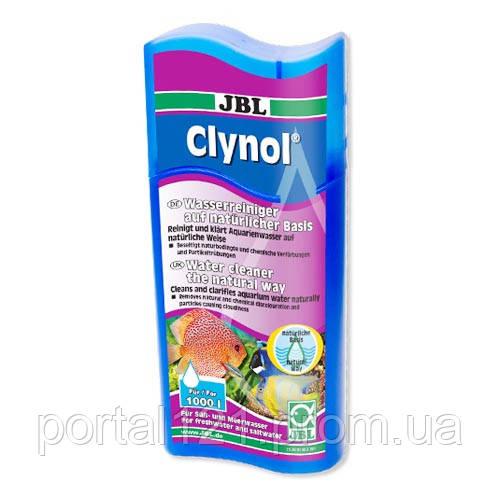 Кондиціонер JBL Clynol для очищення води в прісноводних та морських акваріумах, 100 мл