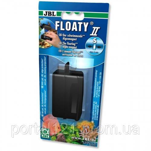 Плавающий магнитный скребок JBL Floaty II S для аквариумных стекол до 6 мм