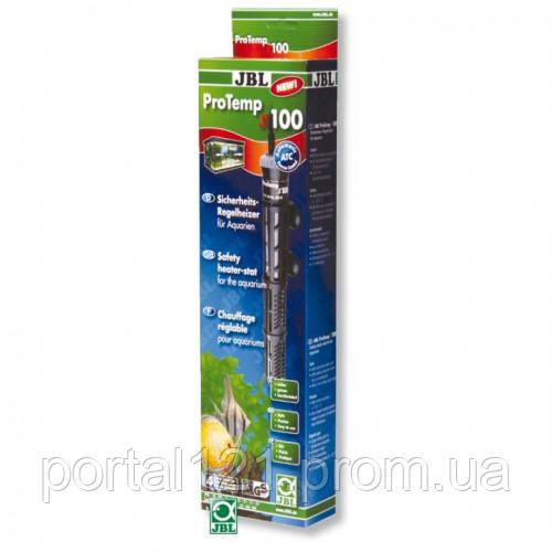 Регулируемый нагреватель 100 Вт с защитным кожухом JBL ProTemp S 100 для аквариума