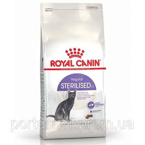 Сухой корм Royal Canin Sterilised 37 для стерилизованных кошек, 400 г