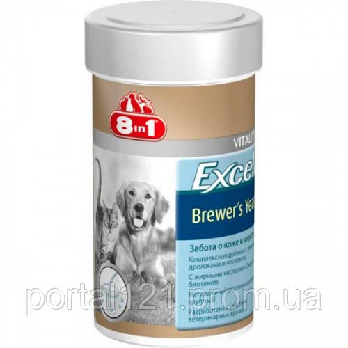 Витамины 8 in 1 Excel Brewers Yeast для кошек и собак, 260 таблеток
