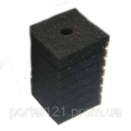 Фильтрующий материал Resun губка, средне пористая, 35ppi, 8х8х14см
