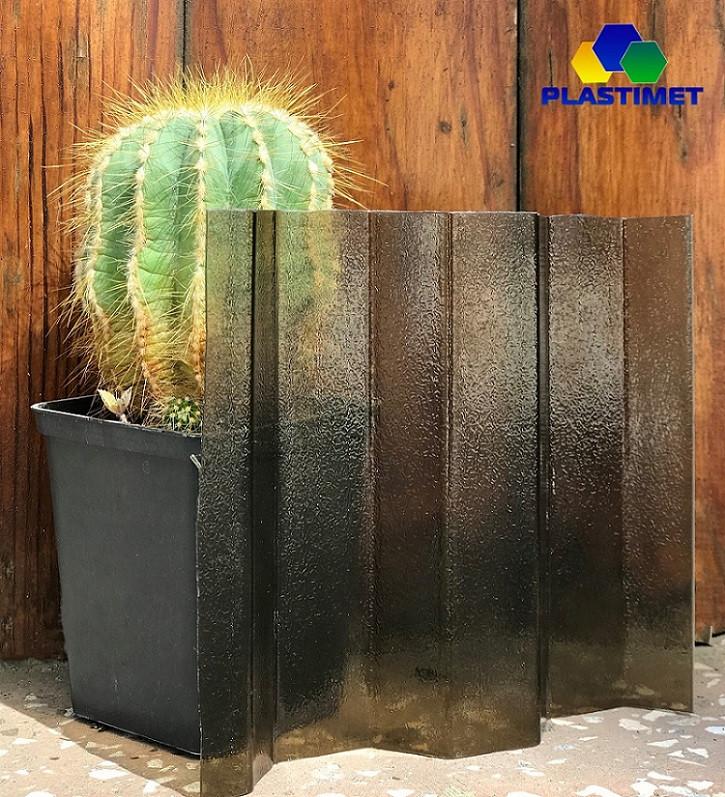 Профильный поликарбонат Suntuf колотый лед (1,06х5м) бронза 2УФ-защита