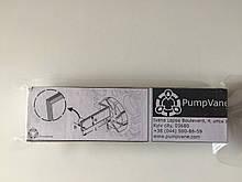 105*39*4 мм Лопатка графитовая для вакуумного насоса Беккер DT 40 90133100007
